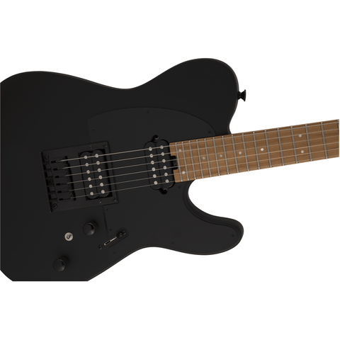 Image of Charvel Pro-Mod So-Cal Style 2 24 HH HT CM, Caramelized Maple Fingerboard, Satin Black - Music 440