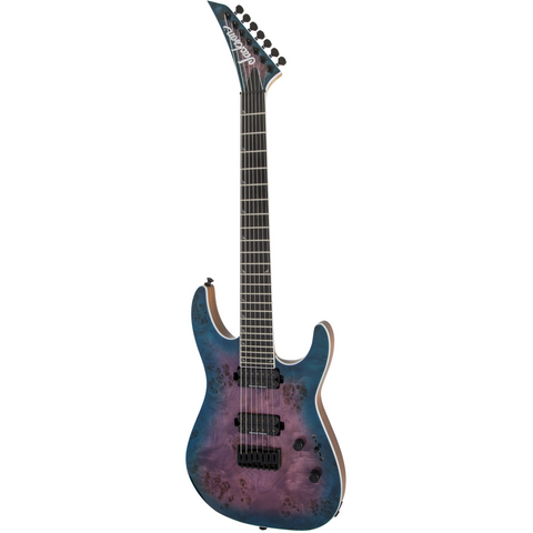 Jackson Pro Series Soloist SL7P HT MAH, Ebony Fingerboard, Northern Lights