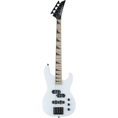 Jackson JS Series Concert Bass Minion JS1XM, Maple Fingerboard - Snow White - Music 440