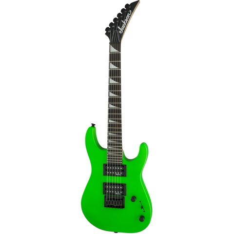 Image of Jackson JS Series Dinky Minion JS1X, Amaranth Fingerboard - Neon Green - Music 440