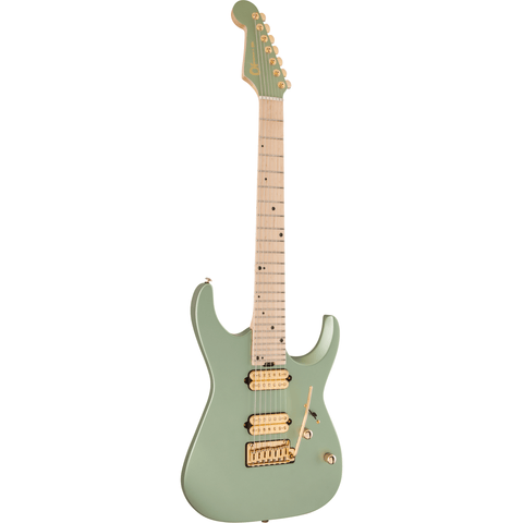 Charvel Angel Vivaldi Signature DK24-7 Nova, Maple Fingerboard - Satin Sage Green - Music 440