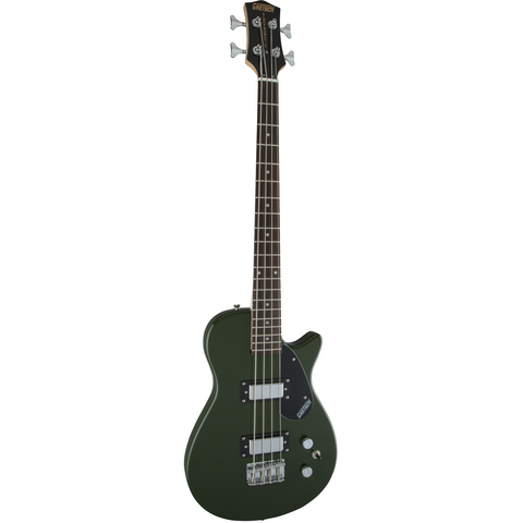 Image of Gretsch G2220 Junior Jet Bass II, Black Walnut Fingerboard - Torino Green - Music 440