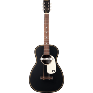 Gretsch G9520E Gin Rickey Acoustic/Electric w/Soundhole Pickup, Walnut Fingerboard - Smokestack Black