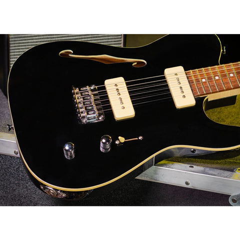 Michael Kelly '59 Thinline Semi-Hollow Body - Gloss Black