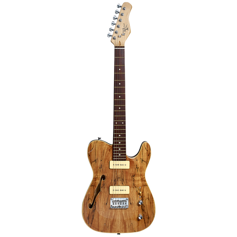 Michael Kelly '59 Thinline Semi-Hollow Body - Spalted Maple
