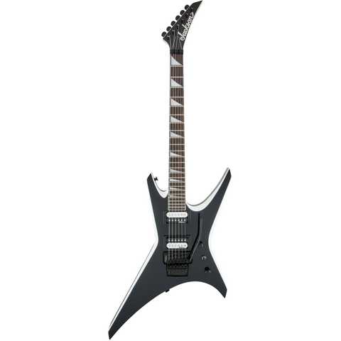 Jackson JS Series Warrior JS32, Amaranth Fingerboard - Black with White Bevels - Music 440
