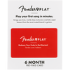 Fender Play Pre-Paid Card - 6 Months - Music 440