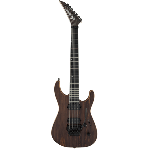 Image of Jackson Pro Series Dinky DK7, Ebony Fingerboard - Natural Rosewood