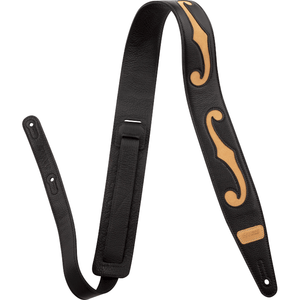 Gretsch F-Holes Leather Strap, Various Colous - Music 440