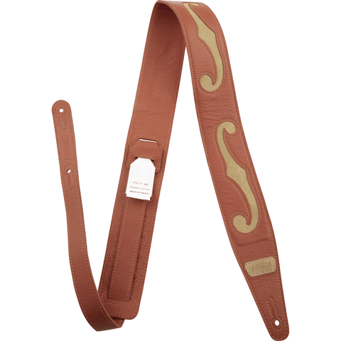 Image of Gretsch F-Holes Leather Strap, Various Colous - Music 440