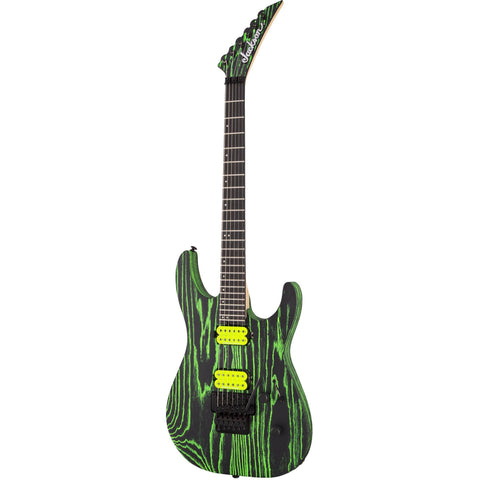Image of Jackson Pro Series Dinky DK2 ASH, Ebony Fingerboard - Green Glow Guitars & Bass Jackson