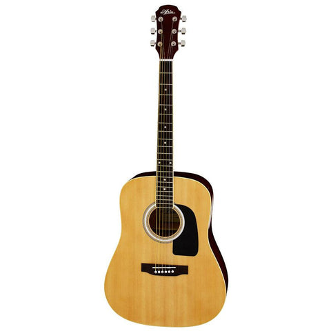 Aria Prodigy Series Acoustic Guitar Beginner Pack - Natural - Music 440