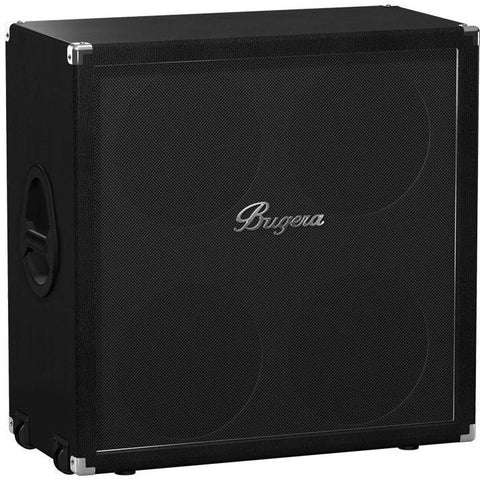 "Image of Bugera Classic 200W Straight Guitar Speaker Cabinet with 4x12"" Original Bugera Speakers - Music 440"