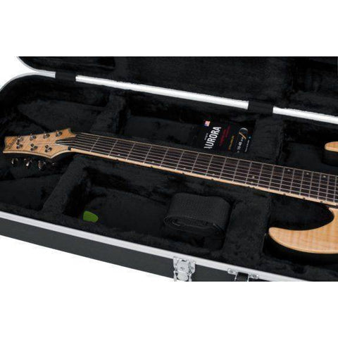 Image of Gator GC-ELEC-XL Extra Long Guitar Moulded Hardcase - Music 440