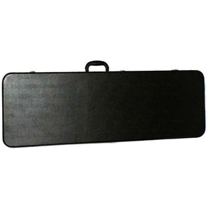 MBT Wooden Electric Guitar Case - Black - Music 440