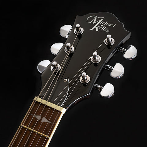 Image of Michael Kelly Patriot Decree Standard Electric Guitar - Black - Music 440