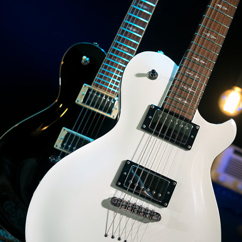 Image of Michael Kelly Patriot Decree Standard Electric Guitar - White - Music 440