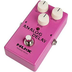 NU-X Reissue Series Analog Delay Effects Pedal - Music 440