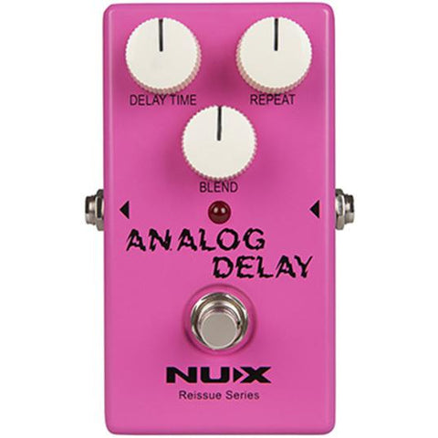 Image of NU-X Reissue Series Analog Delay Effects Pedal - Music 440