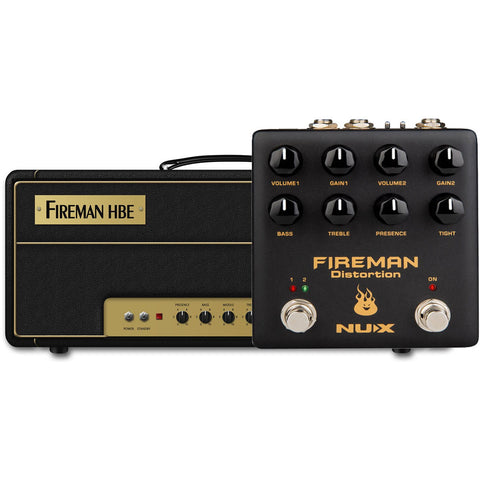 Image of NU-X Verdugo Series Fireman Dual Channel Distortion Pedal - Music 440