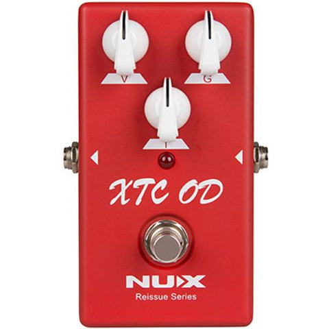Image of NU-X Reissue Series XTC Ovedrive Effects Pedal - Music 440