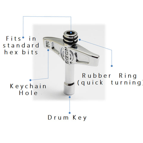 Dixon Multi-Function Drum Key - Music 440