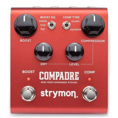 Image of Strymon Compadre - Dual Voice Compressor & Boost - Music 440