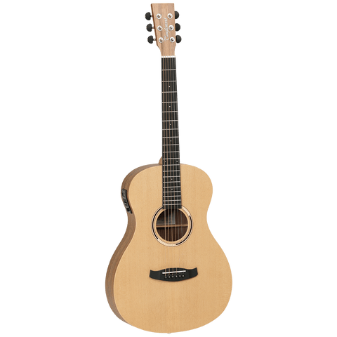 Image of Tanglewood TDBTPEHR Discovery Exotic Parlour Acoustic Electric - Hawaiian Rainwood - Music 440