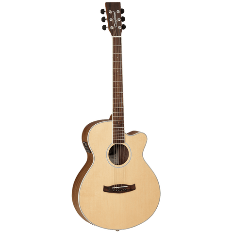 Image of Tanglewood TDBTSFCEBW Discovery Exotic Superfolk C/E - Black Walnut - Music 440