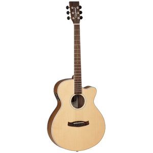 Tanglewood TDBTSFCEBW Discovery Exotic Superfolk C/E - Black Walnut - Music 440