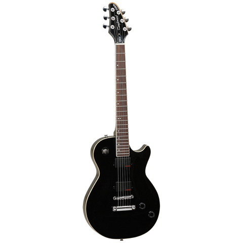 Image of Tanglewood TE3EB Stiletto Electric Guitar, Techwood Fingerboard - Ebony - Music 440