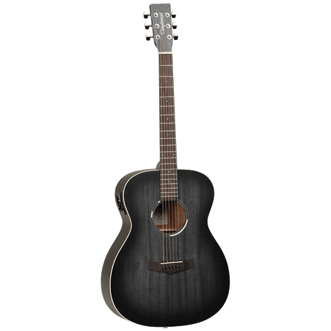 Tanglewood TWBBOE Blackbird Orchestra Acoustic/Electric - Smokestack Satin - Music 440