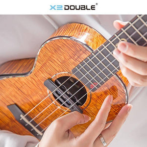 Double U0 Ukulele Pickup w/Built In Effects - Music 440