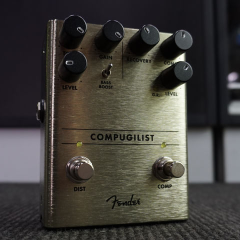 Image of Fender Compugilist Compressor-Distortion Pedal - Music 440