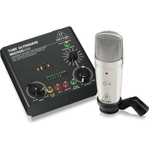 Behringer Voice Studio Recording Bundle - Music 440