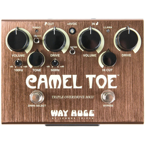 Way Huge Camel Toe Triple Overdrive MKII Pedal - Music 440