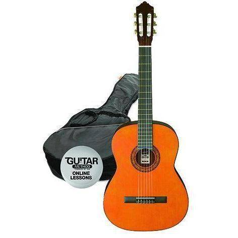 Ashton 4/4 Size Classical Guitar Pack - Various Colours - Music 440