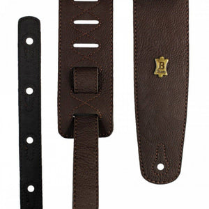 Basso Vegan Leather Guitar Strap ECO-2 - Brown - Music 440