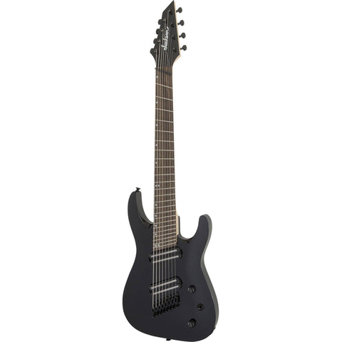 Image of Jackson X Series Dinky Arch Top DKAF8 MS, Laurel Fingerboard - Gloss Black Guitars & Bass Jackson