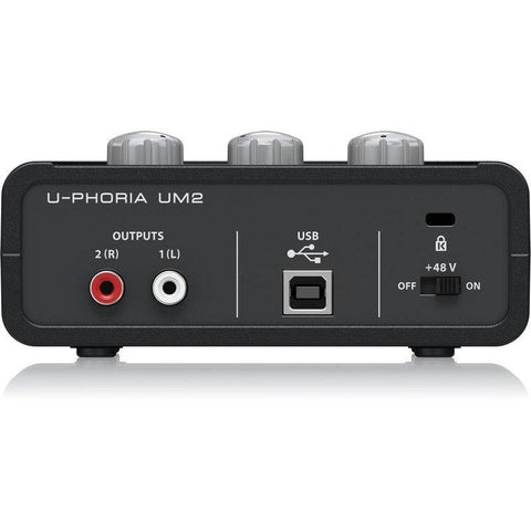 Image of Behringer U-Phoria UM2 2x2 USB Audio Interface - Music 440