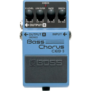 BOSS CEB3 Bass Chorus Pedal - Music 440