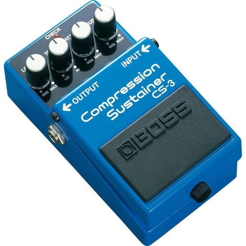 Image of BOSS CS3 Compression Sustainer Pedal - Music 440