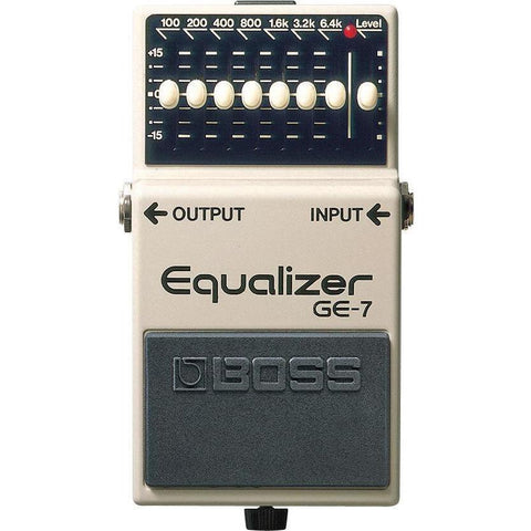 Image of BOSS GE7 7 Band EQ Pedal - Music 440