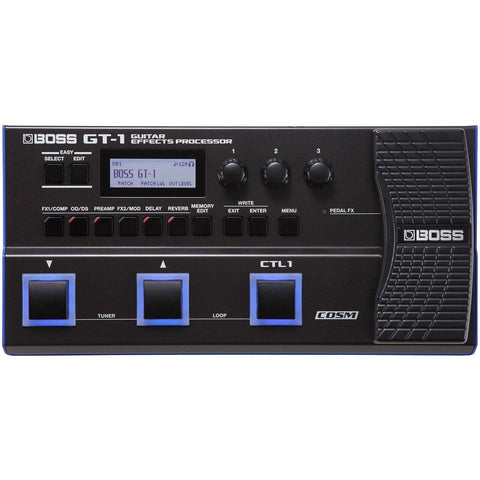 Image of Boss GT1 Guitar Multi FX Processor - Music 440