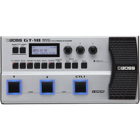Image of BOSS GT1B Bass Multi FX Processor - Music 440