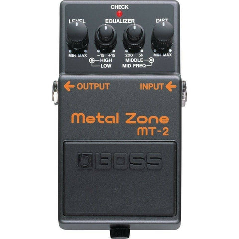 BOSS MT2 Metal Zone Distortion Pedal - Music 440