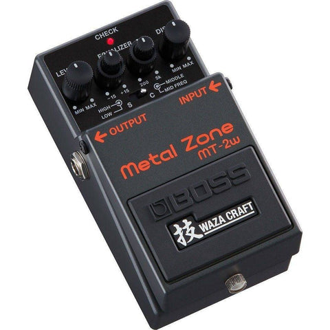 BOSS MT2W Metal Zone WAZA CRAFT Distortion Pedal - Music 440