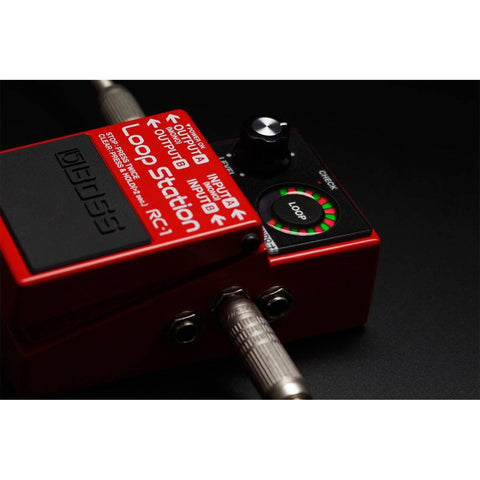 Image of Boss RC-1 Loop Station - Compact Looper Pedal - Music 440