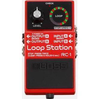 Boss RC-1 Loop Station - Compact Looper Pedal