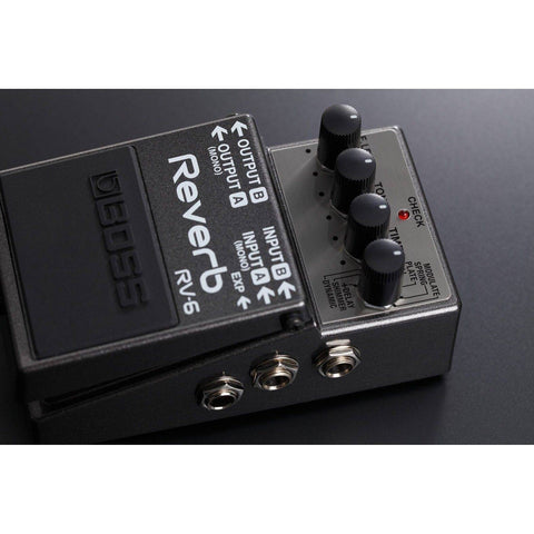 Image of BOSS RV-6 Reverb Pedal - Music 440